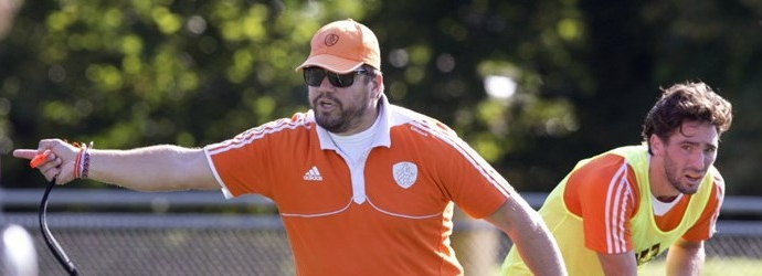 Hockey Coach Max Caldas